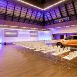 Iluminación salón de convenciones