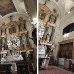 Iluminacióin con LED de la iglesia San Pascual en Madrid