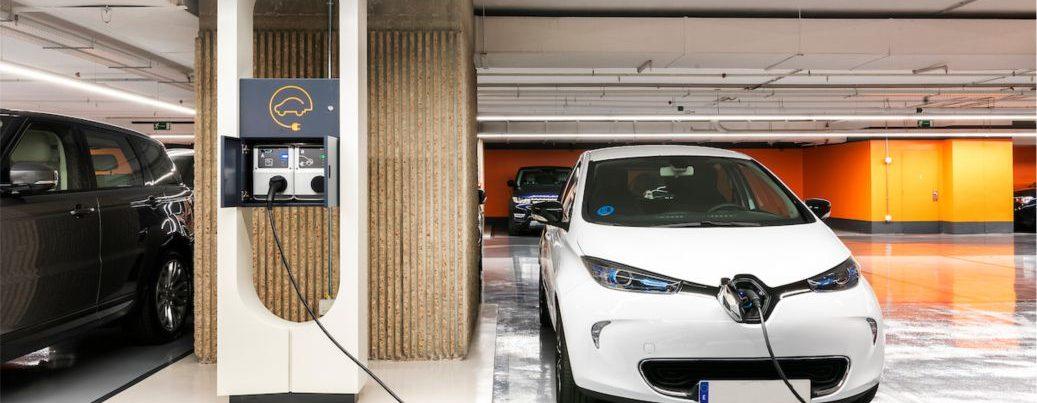 Iluminación Parking