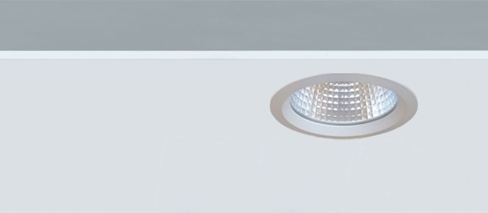 downlight empotrable fijo circular Led Ada1