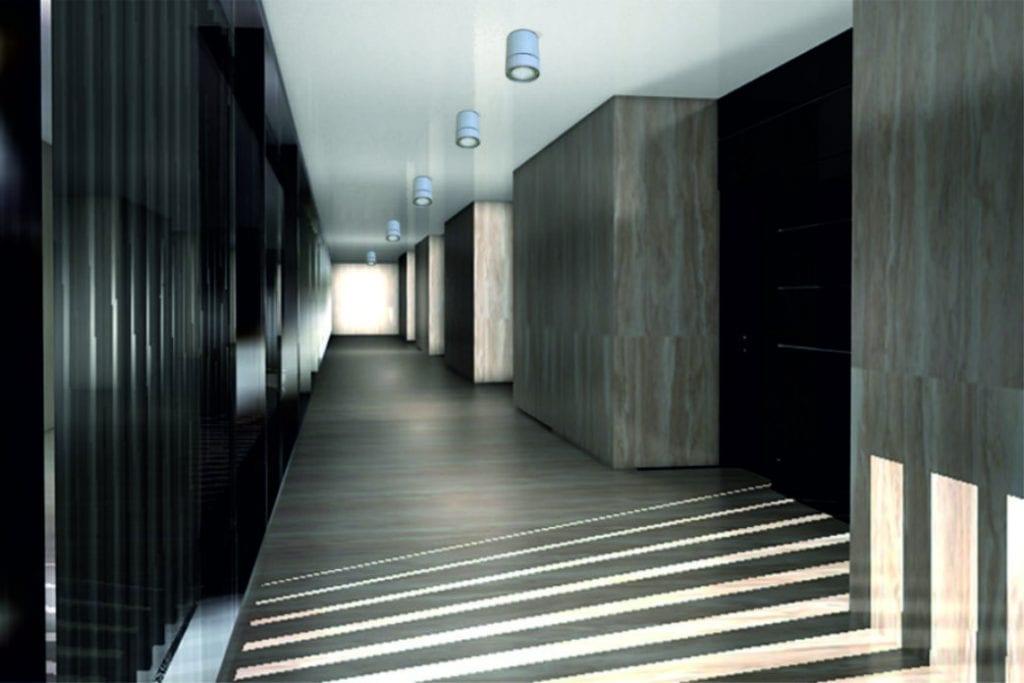 Aplique techo cilíndrico con equipamiento Led