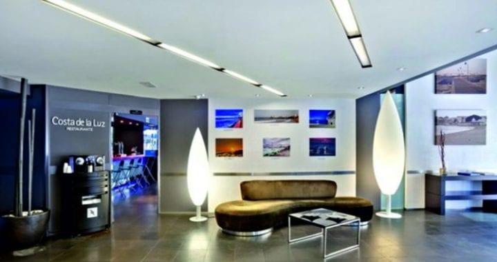 iluminación LED para hoteles