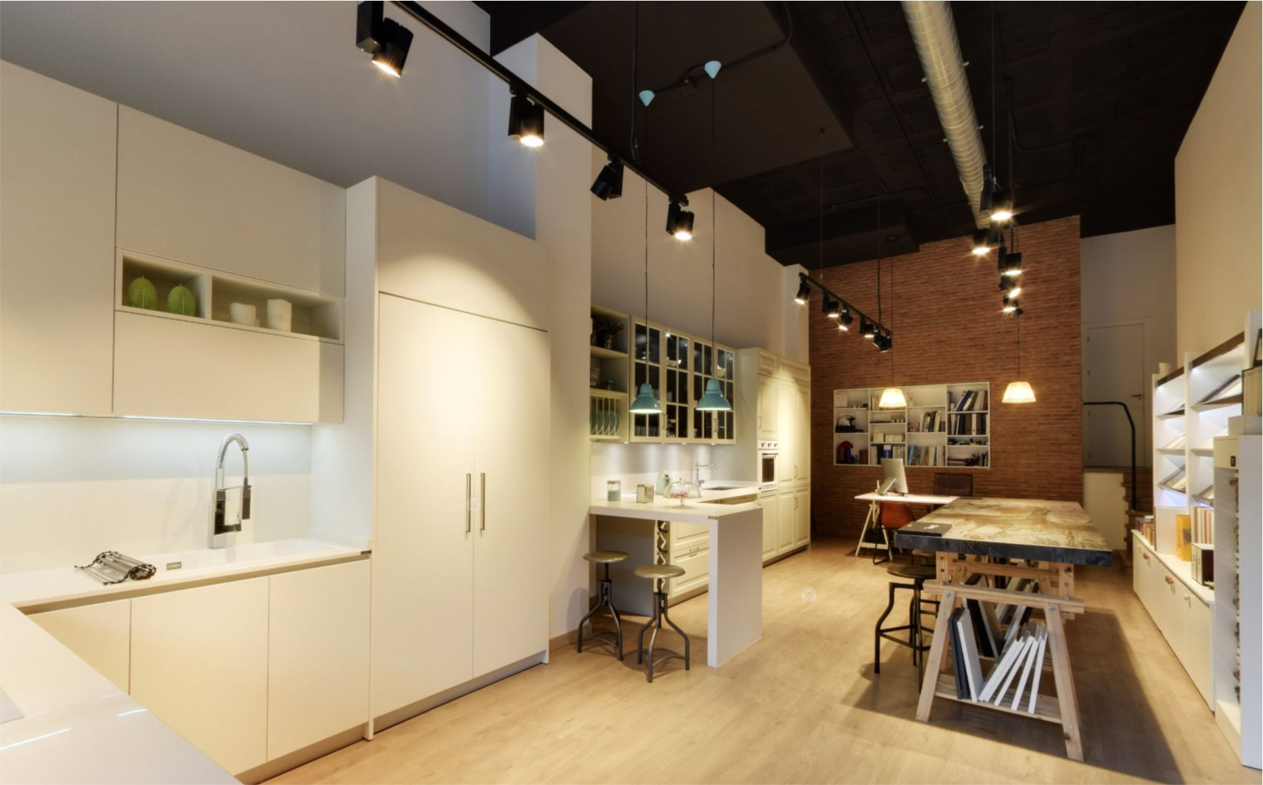 Luz color 2000 empresa de iluminaci n proyectos de - Luminarias para cocinas ...