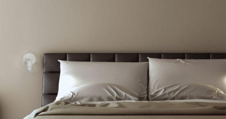 Aplique pared lectura Led para habitaciones de hoteles