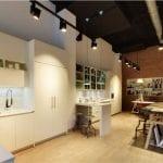 Proyecto iluminación exposición cocinas