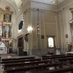 Iluminación con LED de la iglesia San Pascual en Madrid