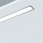 Luminaria lineal empotrada para iluminación general u oficinas RUS Lineal