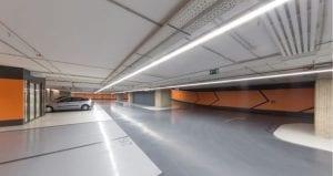 Luminarias lineales led suspendidas