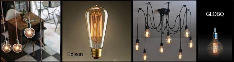 Bombillas led vintage decorativas globo y edison - Iluminacion led decorativa ...