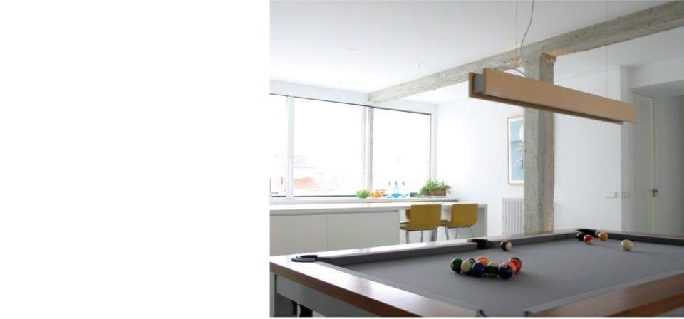 lamparas de madera para diseño arquitectónico