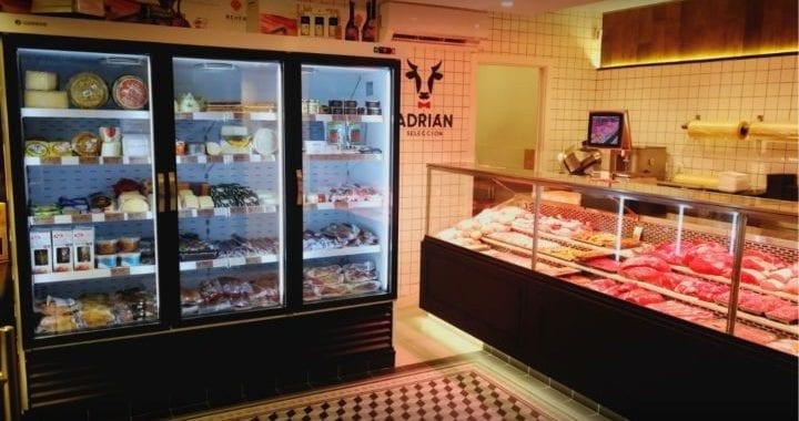 Iluminación carnicerías Modernas para una sugerente presentación del producto e incitar a su compra