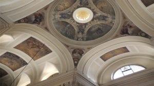 iluminación cupula Iglesia San Pascual