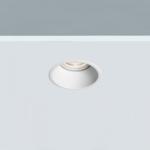 Foco empotrable Lesor LED blanco con el punto de luz remetido