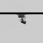 Mini focos led para carril Minispot 25 para iluminación vitrinas