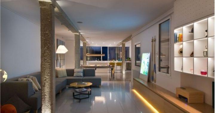Como realizar la iluminación casas modernas