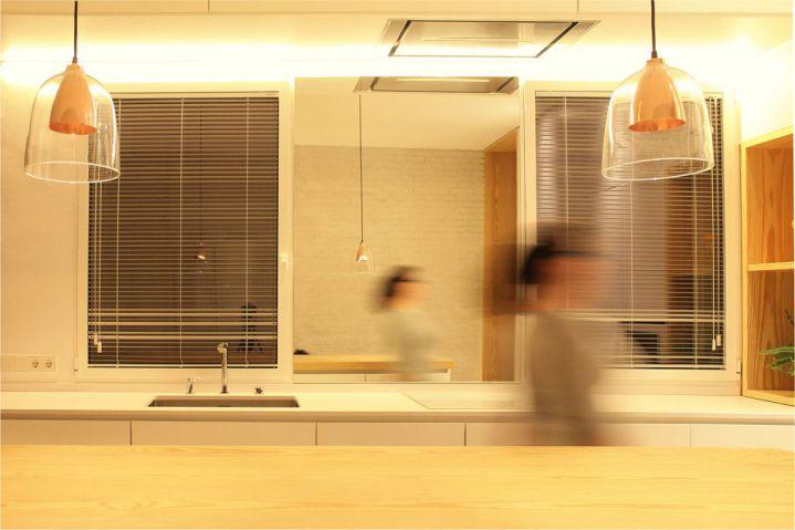 iluminacion cocina en casas modernas