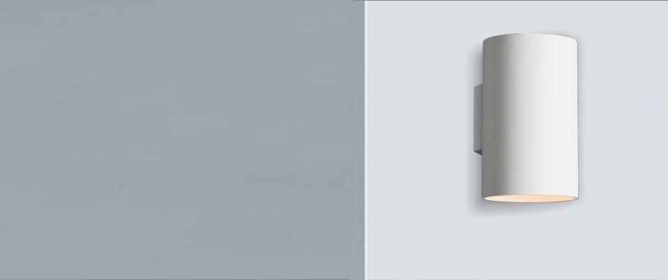 Aplique pared luz directa Cilim 120 Led para una iluminación decorativa