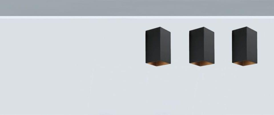 Aplique techo Led Box 90 para iluminación de hogar