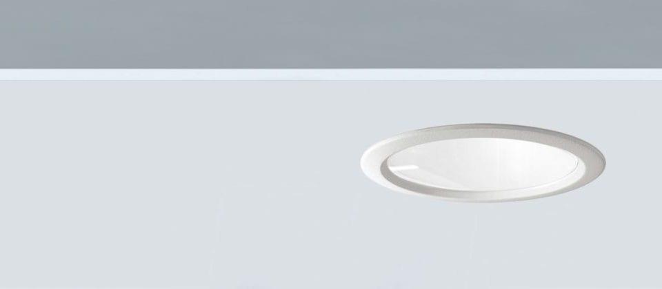 Downlight circular 12W ideal para iluminación general profesional Led Fly 140