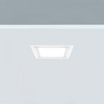 Downlight cuadrado 12W luz general