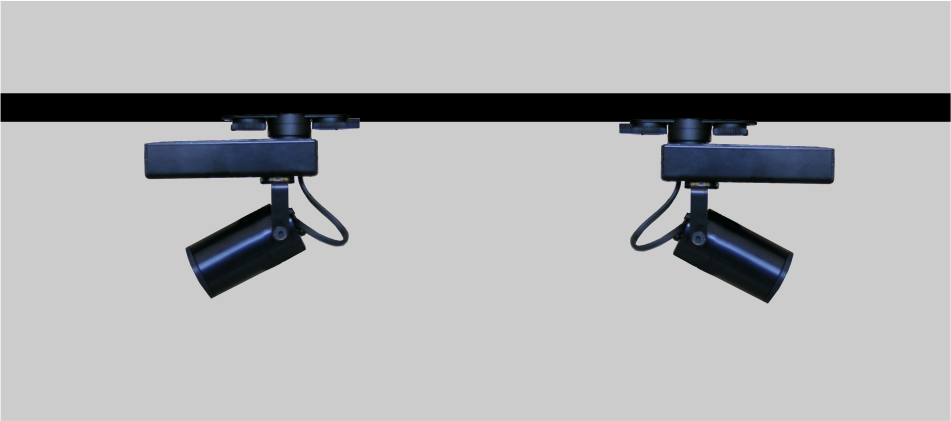foco de carril Led para iluminación puntual