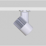 Focos de carril para iluminación restaurantes