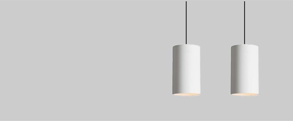 Lampara suspendida para iluminación de interiores con Led Ar111 Cilim 120