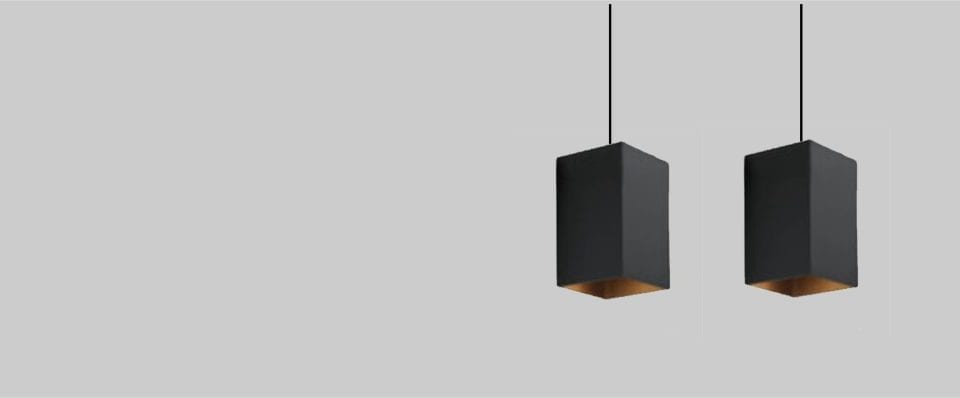 Luminaria colgante decorativa para iluminación interior Box 135