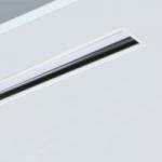 Luminaria led lineal empotrada Rus Apantallada para iluminación de oficinas y espacios de trabajo