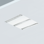 Pantalla led 60x60 con difusor parabolico ideal para iluminación de oficinas