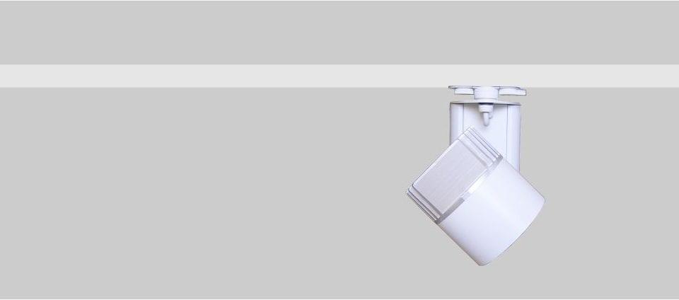 focos de carril iluminación comercial y retail con alta eficiencia y calidad Odeón 120