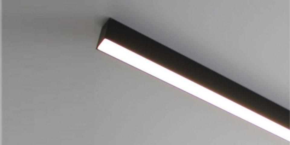 luminaria lineal de superficie para espacios arquitectónicos y iluminación para oficinas