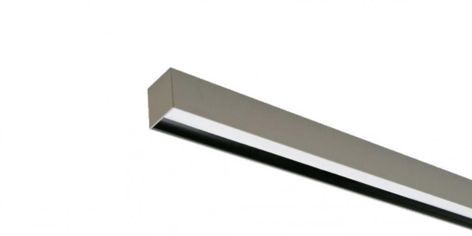 luminaria lineal de superficie apantallada