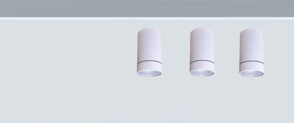 luminaria techo superficie para iluminación técnica