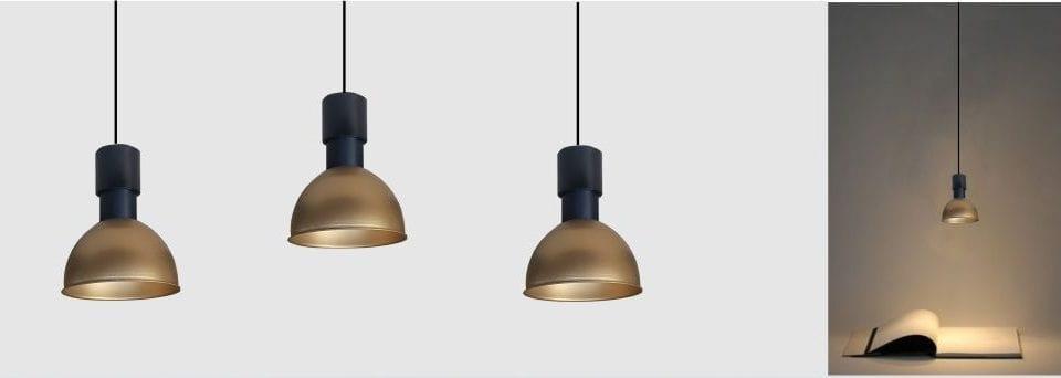 Mini Lámpara colgante decorativa para iluminación minimalista o de luz puntual en mesas de restaurantes