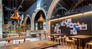 Proyecto y diseño de Iluminación led para restaurantes