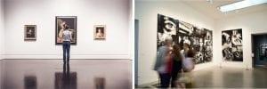 Luz difusa sin Sombras en museos