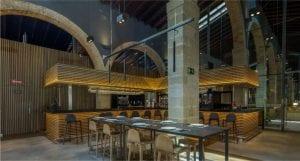 luminarias tubulares para restaurantes