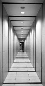focos led en pasillos