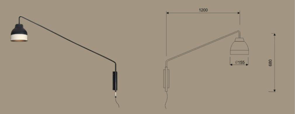 lampara fabricación a medida