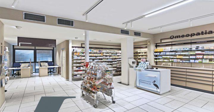 iluminación de farmacias