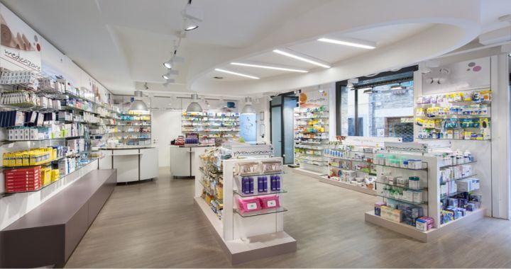 iluminación farmacias