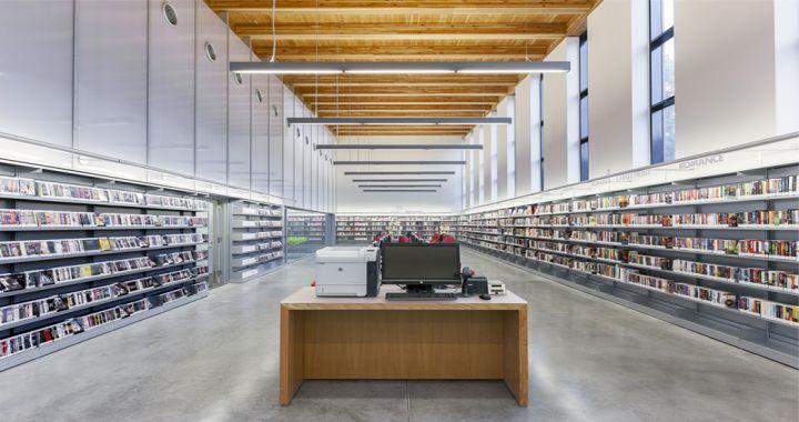 iluminacion en bibliotecas