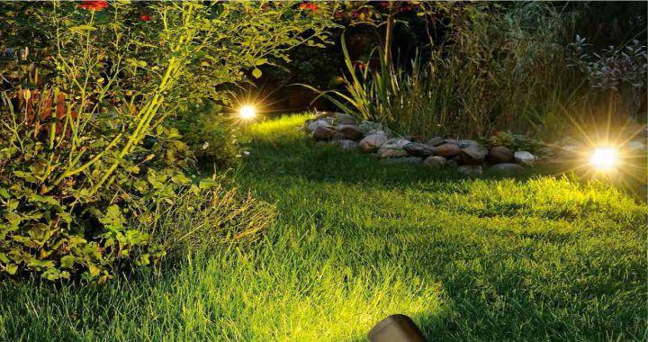 Como Iluminar un Jardin
