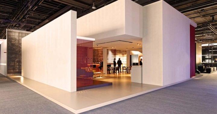 iluminación para estand exposiciones