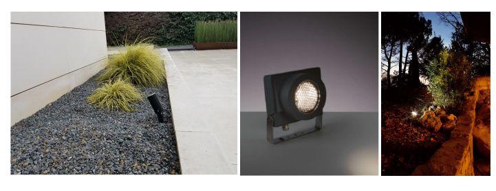 Proyectores de luz para jardin