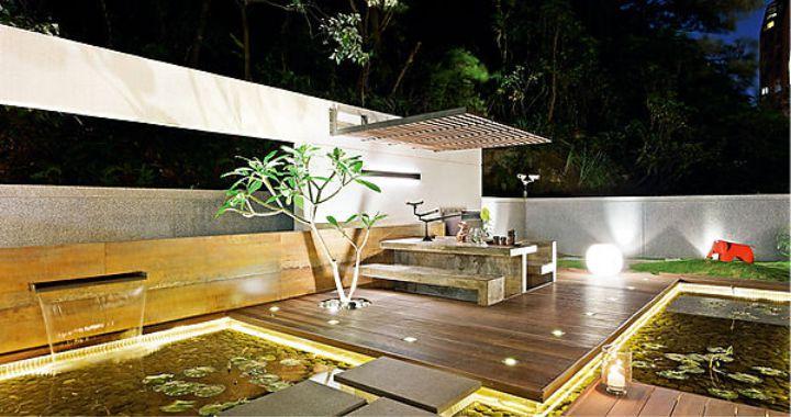 luces para terrazas