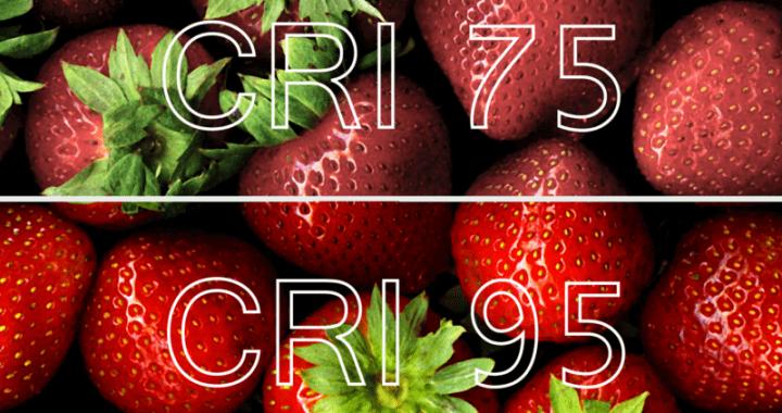 reproducción cromática CRI