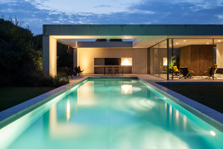 luces de piscina