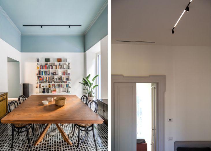 focos de carril para iluminación vivienda unifamiliar